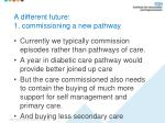 a different future 1 commissioning a new pathway