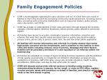 family engagement policies