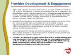 provider development engagement1
