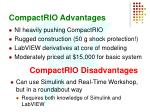 compactrio advantages
