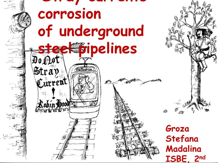 stray currents corrosion of underground steel pipelines n.