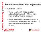 factors associated with trajectories1