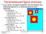 parameterized figure exercise