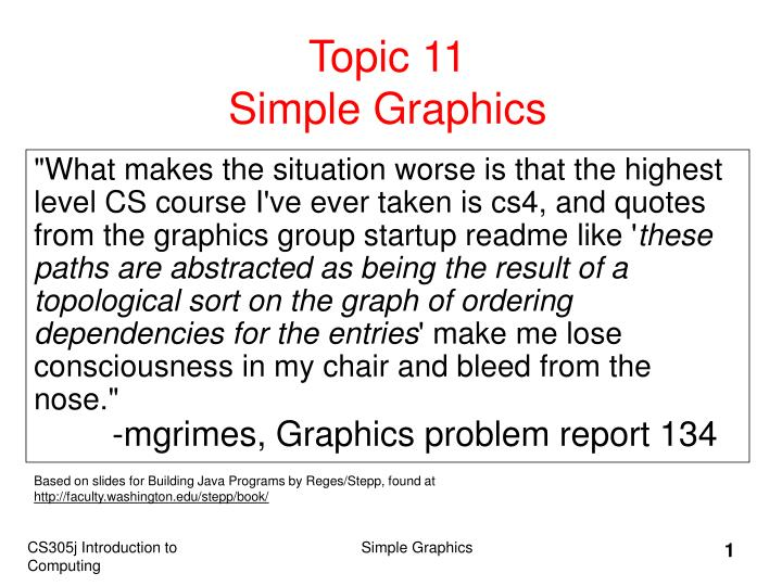 topic 11 simple graphics n.