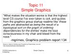 topic 11 simple graphics