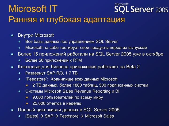 Microsoft IT