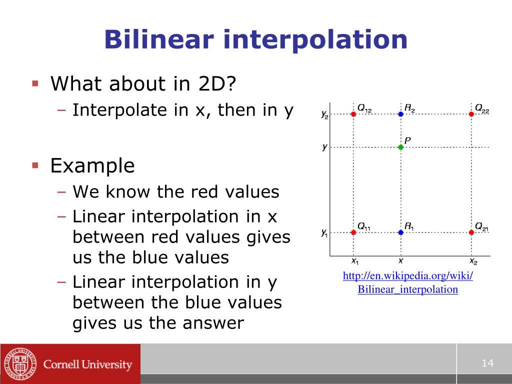 PPT - Interpolation PowerPoint Presentation - ID:1001550