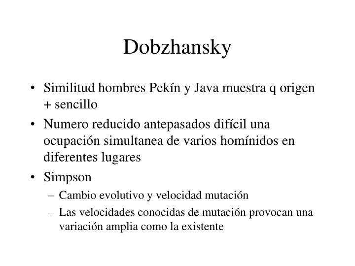 Dobzhansky