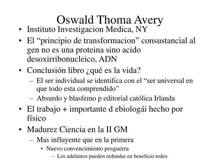 Oswald Thoma Avery