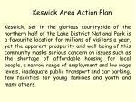 keswick area action plan