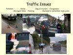 traffic issues