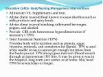 ulcerative colitis goal nursing management interventions