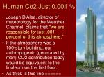 human co2 just 0 001