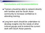 conclusions and recommendations1
