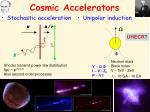 cosmic accelerators
