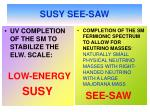susy see saw