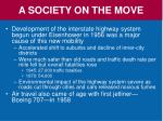 a society on the move1