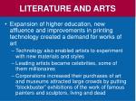 literature and arts2