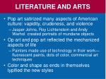 literature and arts5