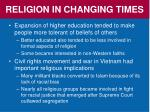 religion in changing times2