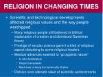 religion in changing times4