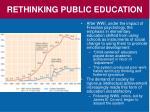 rethinking public education