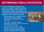 rethinking public education1