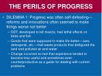 the perils of progress