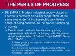 the perils of progress1
