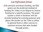 law enforcement services