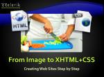 from image to xhtml css