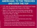 americans to the trenches and over the top1