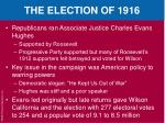the election of 19161