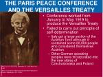 the paris peace conference and the versailles treaty2