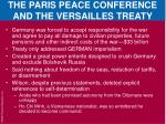 the paris peace conference and the versailles treaty3