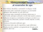 managementul integrat al resurselor de apa9