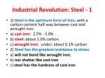 industrial revolution steel 1