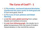 the curse of coal 1