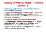 tyranny of wood water from the 1640s 5