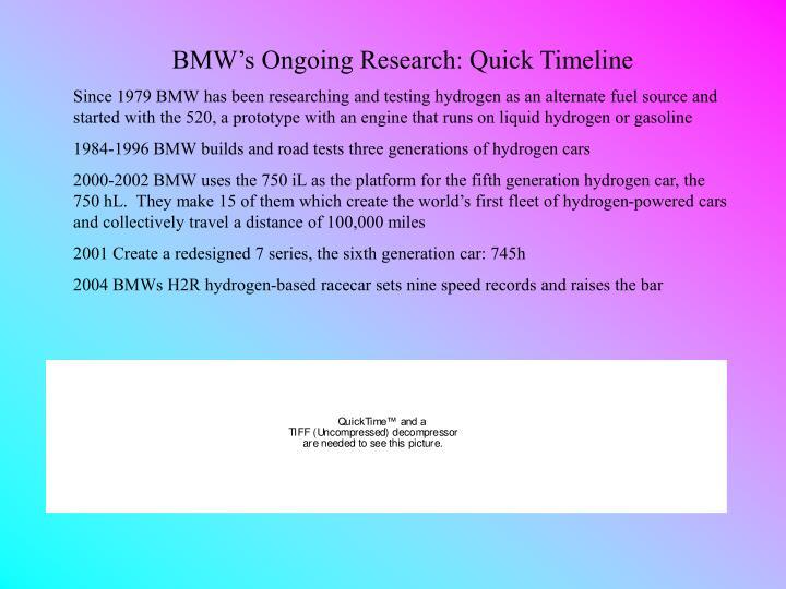 PPT - BMW\'s Hydrogen Powered Vehicles PowerPoint Presentation - ID ...