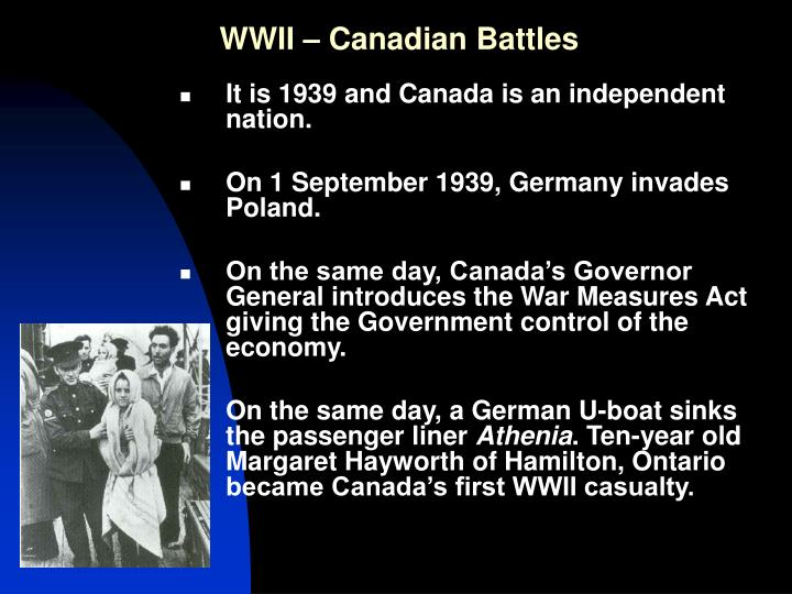 wwii canadian battles n.