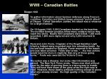 wwii canadian battles6