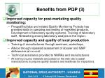benefits from pqp 3