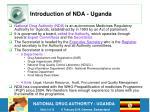 introduction of nda uganda