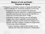 matters of life and death theories of aging10