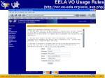 eela vo usage rules http roc eu eela org eela aup php
