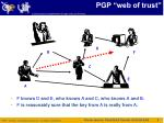 pgp web of trust