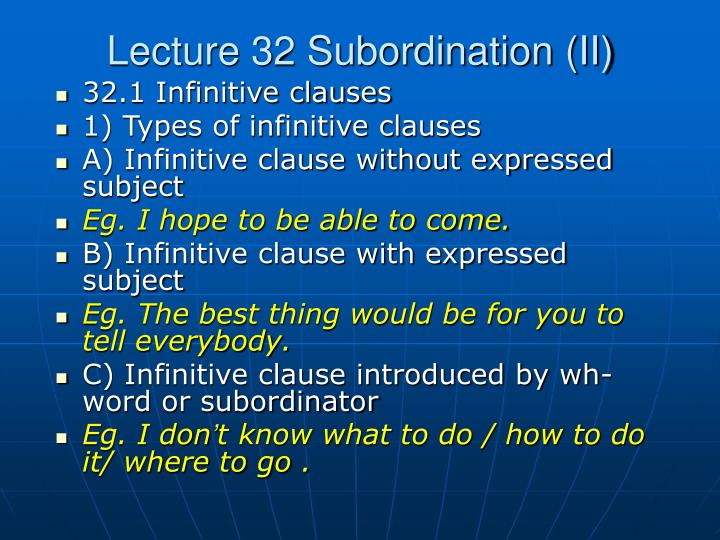 lecture 32 subordination ii n.