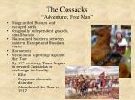 the cossacks adventurer free man