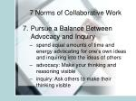 7 norms of collaborative work7